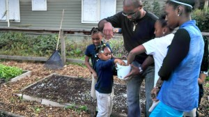 Gardening with FF youth